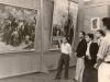 Էդուարդ Իսաբեկյանի  անհատական ցուցահանդեսին Նկարիչների միության տանը, 1947 / At E. Isabekyan's personal exhibition in the Artists' Union