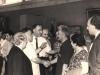 Երվանդ Քոչարը, Վարազդատ Հարությունյանը, Լևոն Բաղդասարյանը և այլոք Է.Իսաբեկյանի անհատական ցուցահանդեսի բացմանը / Yervand Qochar, Varazdat Harutyunyan, Levon Baghdasaryan and others at the opening of E. Isabekyan's personal exhibition