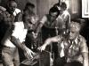 Ամերիկահայ քանդակագործ Խորեն Տեր-Հարության, Էդ.Իսաբեկյան, բանաստեղծ Սարգիս Մուրադյան, Շահե-Զատիկ Տատուրյան / American-Armenian sculptor Ter-Harutyan, and Ed. Isabekyan