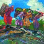 Անձրևից հետո. Տաթևի ծխախոտագործ կանայք. 1962, կտավ, յուղաներկ, 203×260 (ՀԱՊ, ԻՑ)