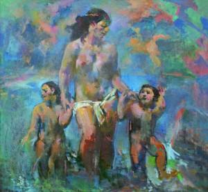 Ծովինար․ 1982, կտավ, յուղաներկ, 140․5 x 150