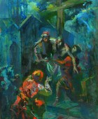 Vow. 1944, oil on plank, 62×48.5, family property