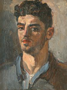 1939 Ինքնանկար Автопортрет Self-portrait