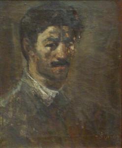 1943 Ինքնանկար Автопортрет Self-portrait