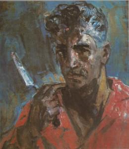 1964 +Ինքնանկար Автопортрет Self-portrait