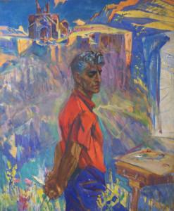 1965 Ինքնադիմանկար Автопортрет Self-portrait