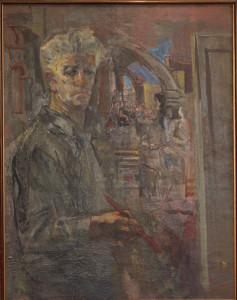 1973-74 Ինքնանկար Автопортрет Self-portrait (2)