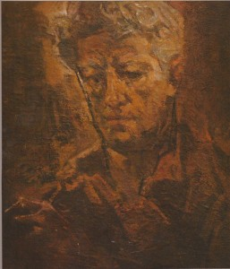 1985... Ինքնադիմանկար Автопортрет Self-portrait
