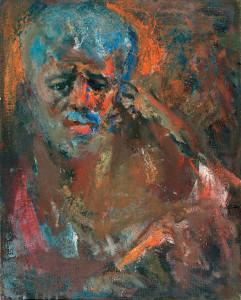 1994 +Ինքնանկար АвтопортретSelf-portrait1,
