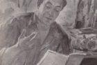 Արփենիկ Նալբանդյան 1961-1964. Բանաստեղծ Հրաչյա Հովհաննիսյան. 1963, կտավ, յուղաներկ, 55×66