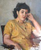 Դմիտրի Նալբանդյան. Արփենիկ Նալբանդյան. 1963, կտավ, յուղաներկ