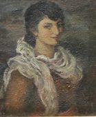 Արփենիկ Նալբանդյան 1916-1964. Ինքնադիմանկար. կտավ, յուղաներկ, ընտանիքի հավաքածու