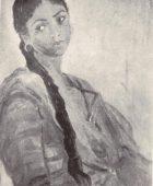 Արփենիկ Նալբանդյան 1961-1964. Լաոսցի աղջիկը, Գուրզուֆ. 1961, կտավ, յուղաներկ, 60×41