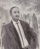 Արփենիկ Նալբանդյան 1961-1964. Սերո Խանզադյանի դիմանկարը. 1962, կտավ, յուղաներկ, 130×80