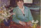 Արփենիկ Նալբանդյան 1961-1964. Սվետլանայի դիմանկարը. 1962, կտավ, յուղաներկ,  80×105