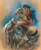 Արփենիկ Նալբանդյան 1961-1964. Վարդան Աճեմյանի դիմանկարը. 1962,  կտավ, յուղաներկ, 82×62