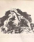 Արփենիկ Նալբանդյան 1916-1964. Նկարչի դիմանկար. կտավ, յուղաներկ, 69×53, Հայաստանի ազգային պատկերասրահ