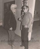 20.05.1994. Հանդիպում ցուցահանդեսին. Էդուարդ Իսաբեկյան, Պողոս Հայթայան