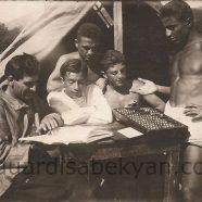 1930, ամառային ճամբար — Երանելի օրեր մանկության ընկեր Սերոբի հետ