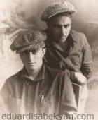 1932. Բալետմայստեր Էդվարդ Մանուկյանի հետ