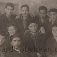 1943. In the Technical College, with his students