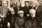Meeting at the exhibition. Suren Safaryan, Mher Abeghyan, Eduard Isabekyan, Ara Bekaryan, Shahen Khachatryan, Alexander Ter-Gabrielyan, Ara Harutyunyan