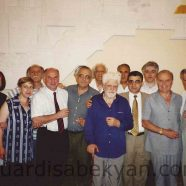 2001. Reception at the Russian Embassy in honor of Isabekyan