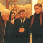 2002. At the opening of Grigor Aghasyan's exhibition